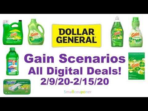 Dollar General Gain Scenarios 2/9/20-2/15/20! All Digital Deals!