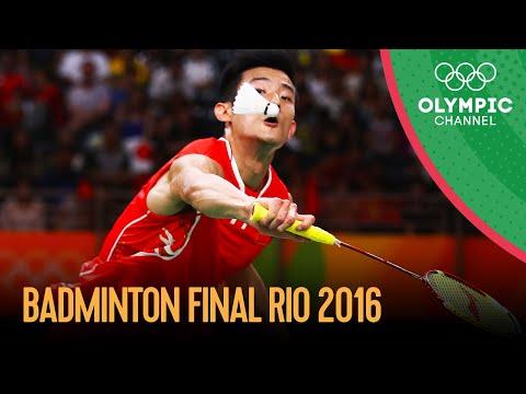 Men's Singles Badminton Final   Rio 2016 Replays
