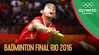 Men's Singles Badminton Final | Rio 2016 Replays