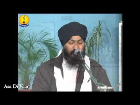 AGSS 2012 - Asa Di Vaar : Bhai gurdev singh ji