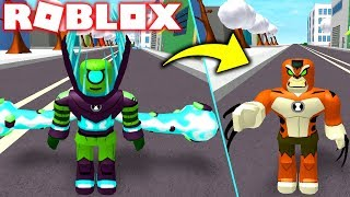 ROBLOX ! NOVOS ALIENS DO OMNI-ENHANCED CIPO SELVAGEM E RATH ! - BEN 10 REBOOT KAMPFSPIELE