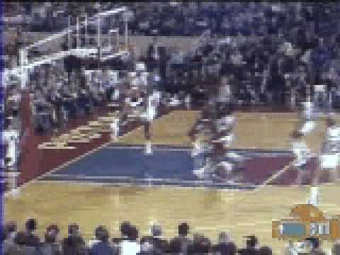 Michael Jordan jam vs Detroit Pistons - NBA Regular Season 84/85