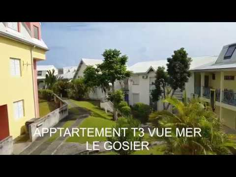 APPARTEMENT T3 VUE MER - LE GOSIER - GUADELOUPE