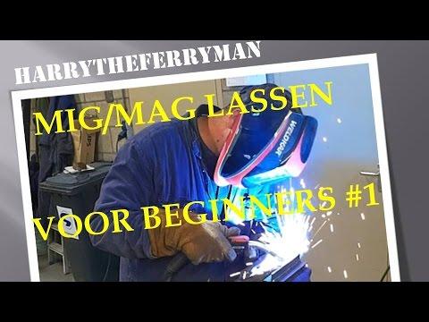 Bekend MIG/ MAG LASSEN HOE DOE JE DAT #1 !!! - YouTube VN27