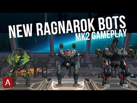 NEW RAGNAROK ROBOTS Loki Fenrir Tyr Update 50 Review   Stream Gameplay  War Robots WR