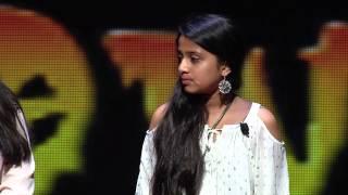 Music as medicine | Praharshitha (Prashy) Veeramraju | TEDxKids@SMU
