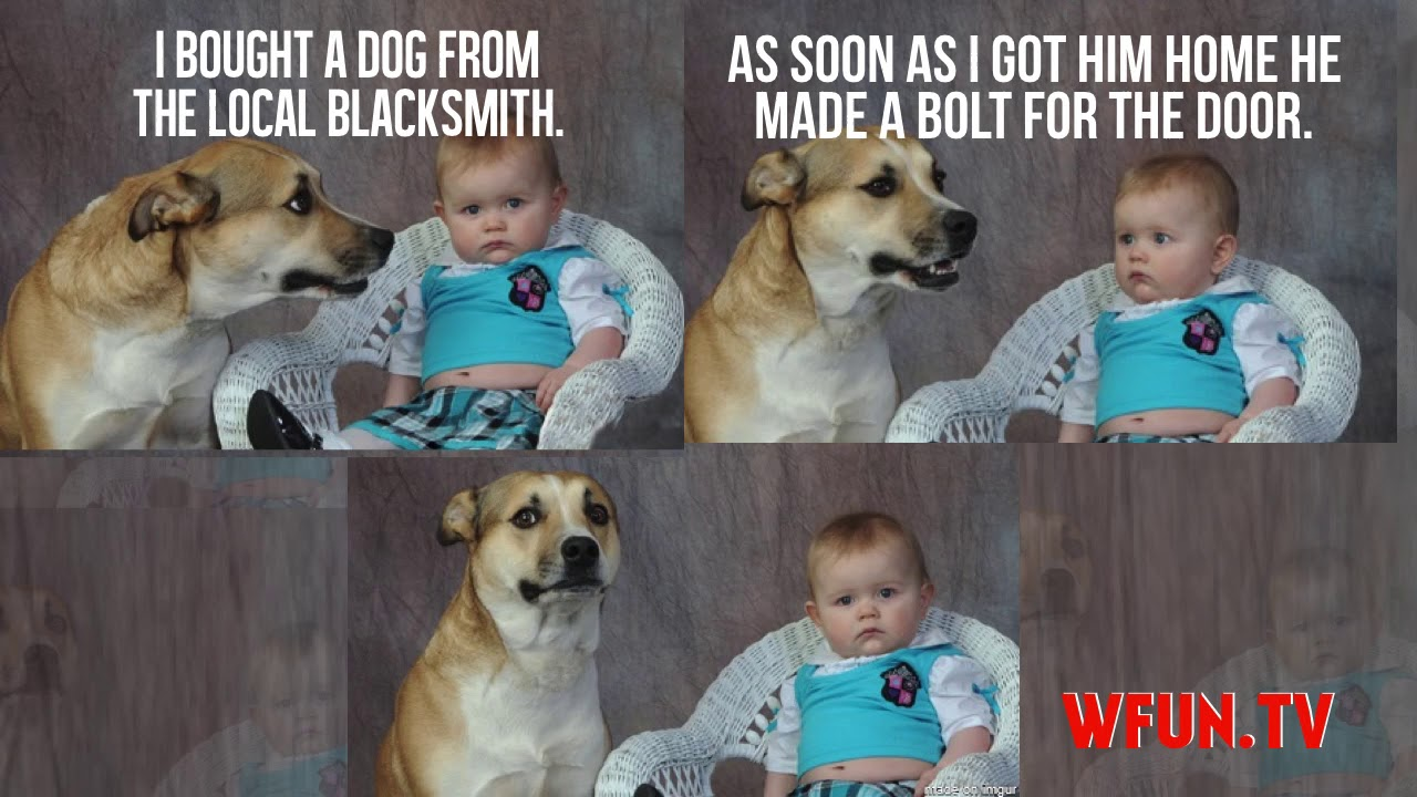 Funny Dad Jokes Meme : Dad learns an important lesson you can t reason with babies