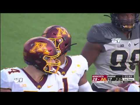Gopher Blog - Gophers' RB Rodney Smith Highlights vs. Purdue Boilermakers | KFAN 100.3 FM