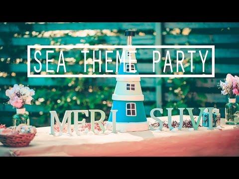 Вечеринка в Морской Тематике - Морская Вечеринка - МАСТЕР-КЛАСС #14