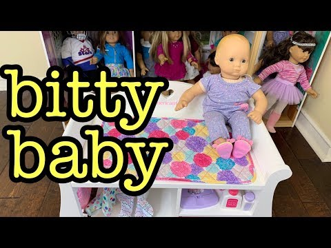 Baby Doll Changing Table - American Girl Doll Bitty Baby