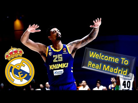 promo code ef7cd b3cb0 Jordan Mickey ● Welcome To Real Madrid ● Best Plays & Highlights