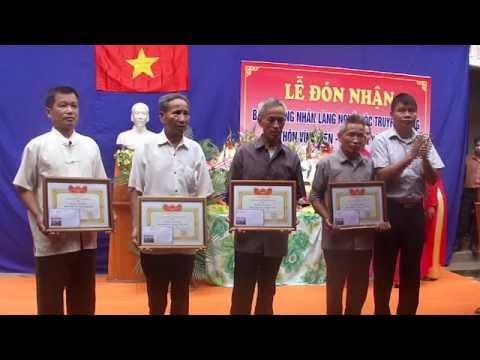Le don Bang lang nghe Moc truyen thong thon Vinh Tien