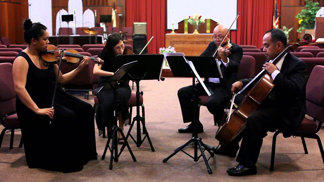 Buhat Tagalog Wedding Song String Quartet By The Ocdamia Strings