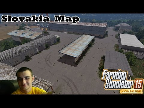 Farming Simulator 2015 #29 Sprawdzanie map: Slovakia Map