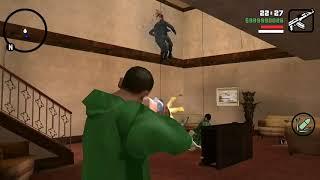 Миссия воссоединение семей в GTA San Andreas. Android. С читами.