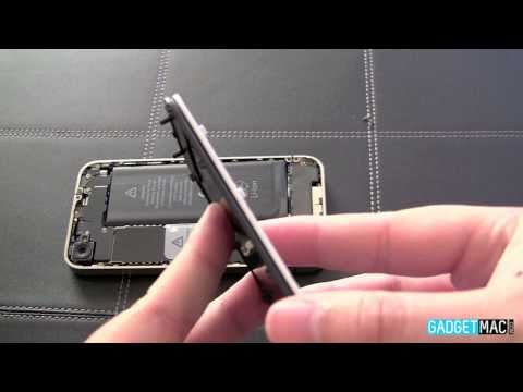 Replace Your iPhone 4's Back Glass To White or Metal (How-To)