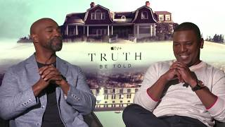 """Truth Be Told"" Stars Michael Beach And Mekhi Phifer Talk Love Triangles And Exes Who Are Trouble 