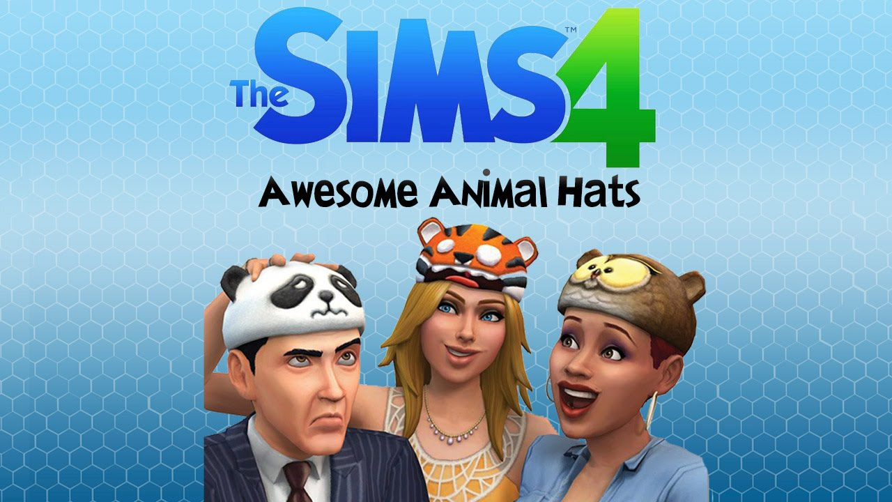 The sims 4 awesome animal hats digital deluxe youtube for Awesome sims