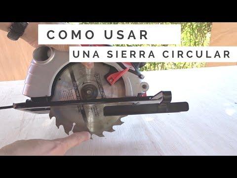 Como usar una sierra circular | La mejor herramienta para cortar madera