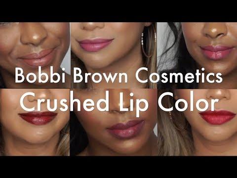 Bobbi Brown Crushed Lip Color Review