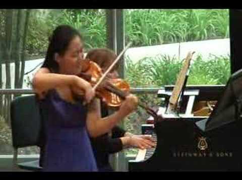 Jessica Hung-Brahms Sonata D minor-1st mvt 5-9-08
