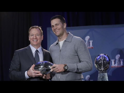 Roger Goodell forced to hand over Super Bowl MVP trophy to Tom Brady