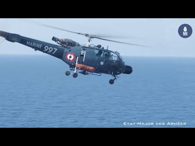 Hellenic Navy and French Navy Combined Exercise in the Eastern Mediterranean