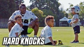 Antonio Brown's Kids go to Training Camp! | NFL Hard Knocks