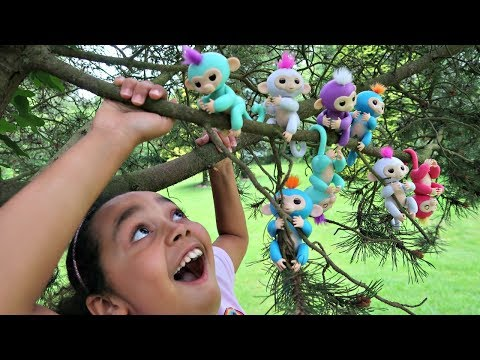Thumbnail: Fingerlings Surprise Baby Monkeys In Our Tree - Kids Toy Review | Toys AndMe
