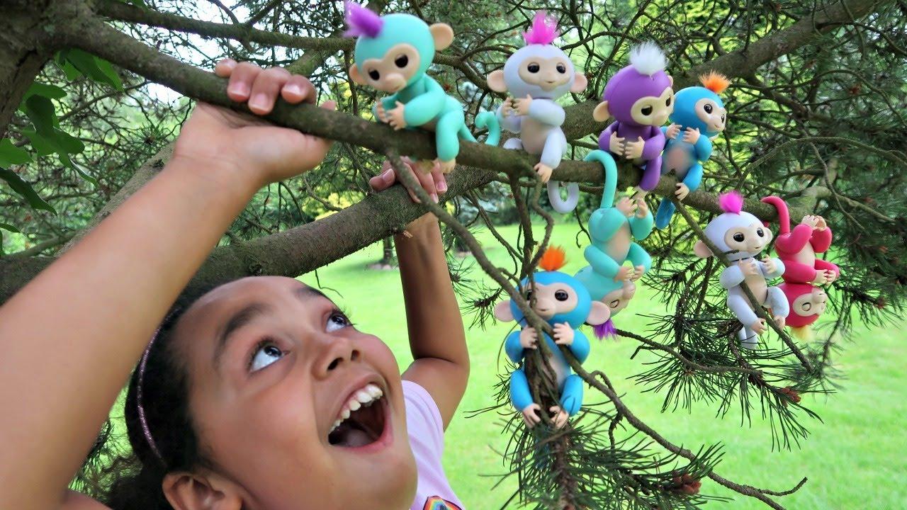 Fingerlings Interactive Baby Monkeys Incredorable