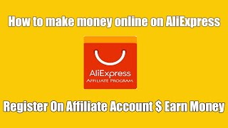 Today i show you the affiliate websites aliexpress where register on account & earn money online.hey gave 30%--90% each product or discount ...