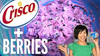 AKUTAQ Eskimo Ice Cream Recipe Test | Crisco & Berries