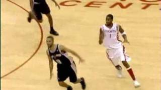Repeat youtube video Tracy McGrady: 13 points in 33 seconds