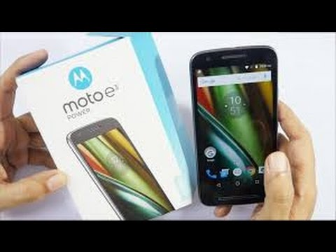 Moto E3 Power Unboxing & Camera Test and Full Review (HINDI)