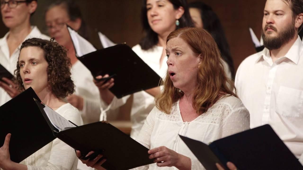 The Parting Glass premier (Treble choir)