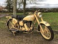 1943 Matchless Desert WW2 Military G3L for Sale