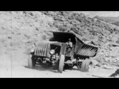 Building the Boulder Dam During the 1930 ~ Classic Architect Documentary