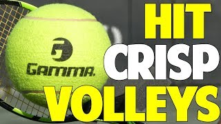 How to Hit Crisp Volleys