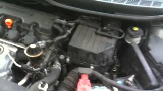 Honda Civic 2008 LX - identifying what makes noise on drive belt