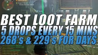The Division - BEST LOOT FARM | 5 268's & 229's Every 15 Minutes