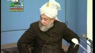 Arabic Darsul Quran 7th February 1995 - Surah Aale-Imraan verses 184-185 - Islam Ahmadiyya