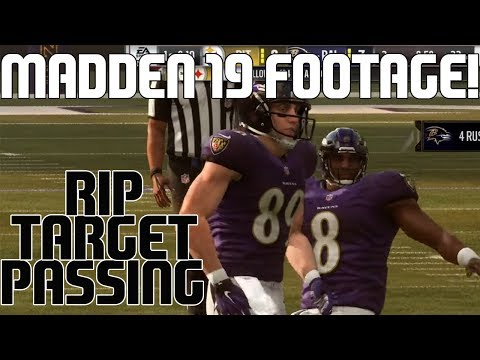 REAL MADDEN 19 GAMEPLAY FOOTAGE AND DETAILS! ALL MADDEN DIFFICULTY NEXT YEAR?