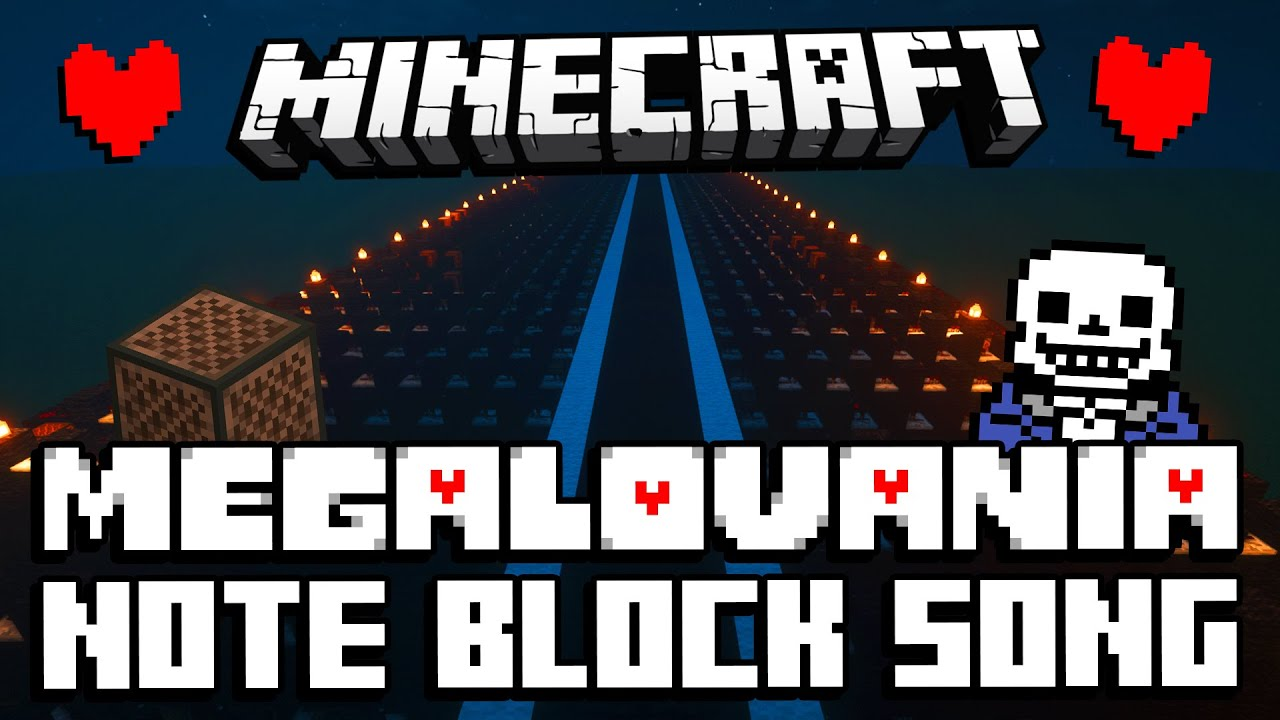 ♫ Megalovania - Minecraft Note Block Song