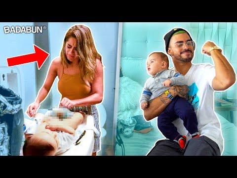 24 horas siendo papás | Kim Shantal y Malcriado