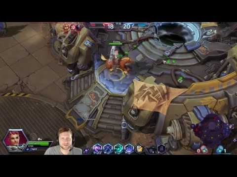 Heroes of the Storm - Zarya & Warhead Junction First Match!