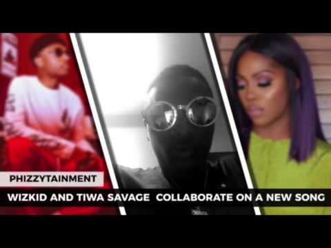 Wizkid And Tiwa Savage Collaborate On A New Song