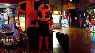 Sean Playing Beach Head 2002 at Gameworks (Tempe, Arizona)