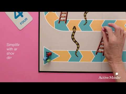 Snakes And Ladders Dementia Game