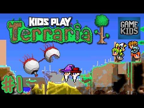 Terraria Gameplay with Matt, Webb and Mills - Kids Play