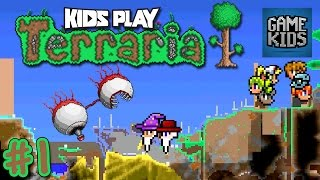 Terraria Gameplay With Matt, Webb And Mills - Kids Play